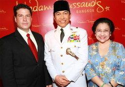 มาดามทุสโซ เปิดตัวหุ่นขี้ผึ้งประธานาธิบดีซูการ์โนแห่งอินโดนีเซีย