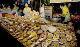 ตลาดน้ำบางน้ำผึ้ง แหล่งของกินอร่อยสมุทรปราการ