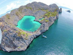 """""""เกาะค๊อกคอม"""" ทะเลหัวใจมรกต..เสน่ห์แห่งใหม่ของท้องทะเลพม่า"""