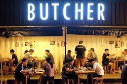 กินเนื้อ ปิ้ง ๆ ย่าง ๆ บรรยากาศข้างถนน ณ Butcher Beef & Beer