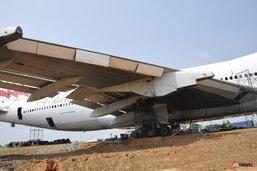 อลังการ..งานสร้าง 'โบอิ้ง 747' Landmark ใหม่..กลางไร่มัน!!