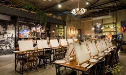 'Paint Bar Bangkok' จิบชา ละเลงศิลป์ สำหรับคนรักงานศิลปะ