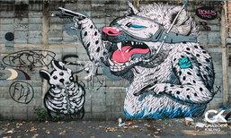Wall Art เจริญกรุง แหล่งรวม Graffti จากศิลปินทั่วโลก