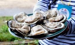 สนุกพาชิมหอยนางรมยักษ์แห่งเมืองจันท์!! ณ ฟาร์มหอยลุงทมป้าหลุย