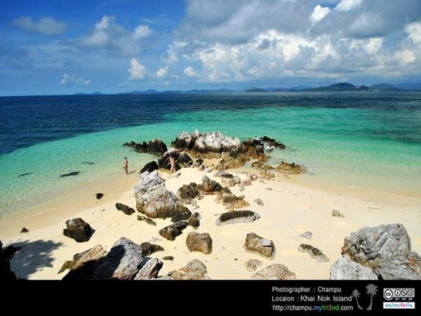 เกาะไข่นอก รับลมทะเล