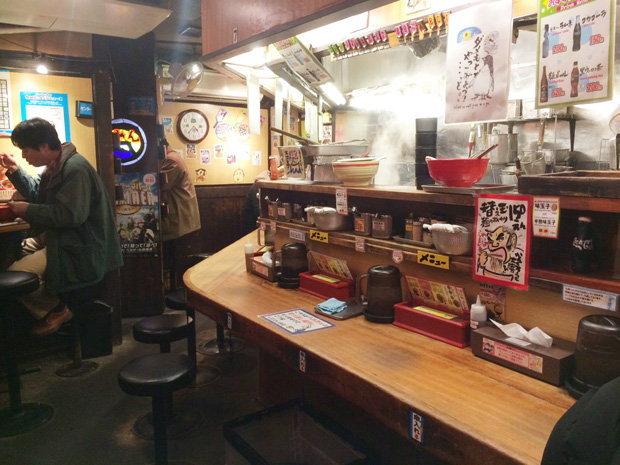 ภายในร้าน ราเมง ญี่ปุ่น