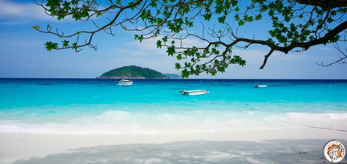 หาดเกาะสี่ หมู่เกาะสิมิลัน