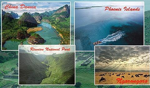 8 แหล่งธรรมชาติแห่งใหม่ล่าสุดของโลก
