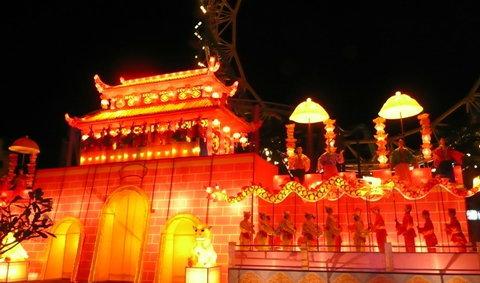 ชมภาพบรรยากาศเทศกาลโคมไฟไทย-เกาหลี!!