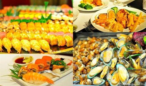 เต็มอิ่มกับบุฟเฟ่ต์อาหารนานาชาติ สเต็ก Seafood & BBQ