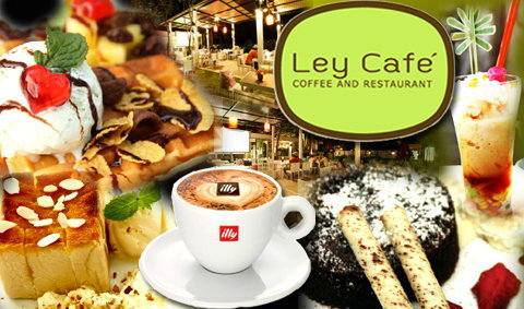 Chic and Chill @ Ley Cafe' Pranburi Coffee & Restaurant