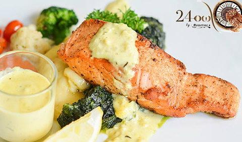 24 อาวส์ อร่อย 24 ชั่วโมง พร้อมเสิร์ฟอาหารฟิวชั่นตลอดทั้งวัน