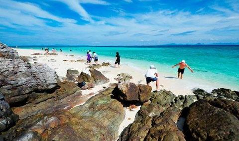 100 ภาพสวยทะเลใต้ ฟ้าสวยทะเลใส