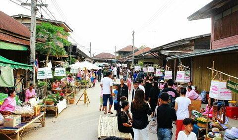 สุโขทัยชวนเที่ยวตลาดริมยม ตลาดน้ำเก่าแก่ของประเทศไทย