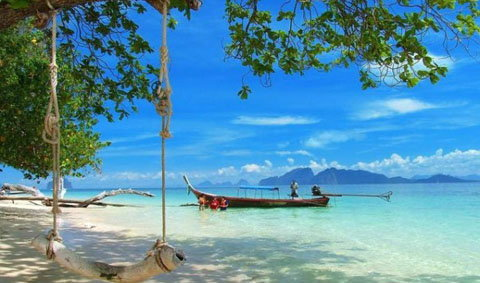 วันเดียวเที่ยว 4 เกาะ +@ทะเลตรัง