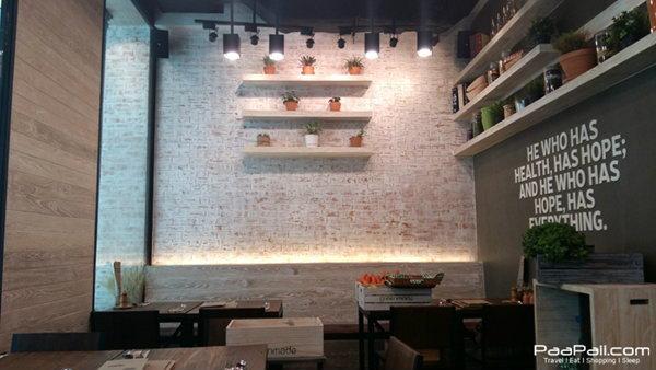 greenmade cafe' ร้านดีๆ สำหรับคนรักสุขภาพ