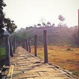 สะพานไม้ ซูตองเป้ จังหวัดแม่ฮ่องสอน