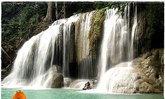 น้ำตกเอราวัณ อุทยานแห่งชาติเอราวัณ จ.กาญจนบุรี