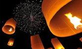 ดูดาวล้านดวง ปล่อยโคมลอย งานประเพณียี่เป็ง เชียงใหม่ 2557