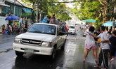 ปักหมุด! จุดไหนของประเทศไทย 'ห้ามใช้รถกระบะ' เล่นน้ำสงกรานต์
