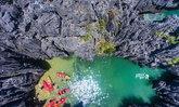 เภพาเที่ยว ปราสาทหินพันยอด เกาะเขาใหญ่ จังหวัดสตูล