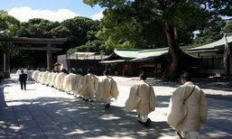 เขียน'อิมะ'ขอพร @ ศาลเจ้าเมจิ...โตเกียว