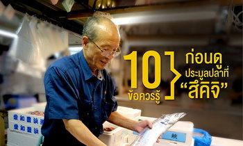 """10 ข้อควรรู้ ก่อนดูประมูลปลาที่ """"สึคิจิ"""""""