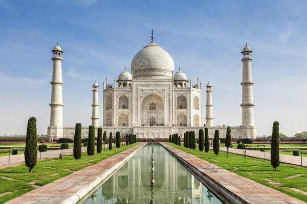 ผลการค้นหารูปภาพสำหรับ ทัชมาฮาล เมืองอักรา ประเทศอินเดีย