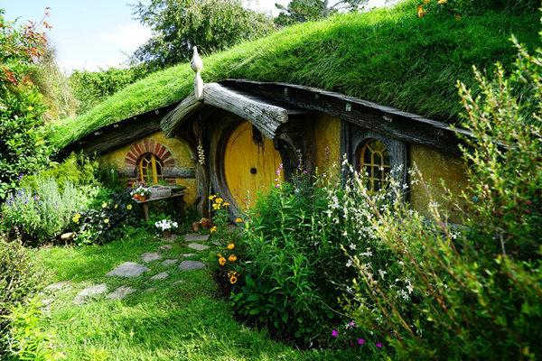 """บุก Hobbiton บ้าน """"ฮอบบิท"""" ของจริง  น่ารักโฮก..!!"""