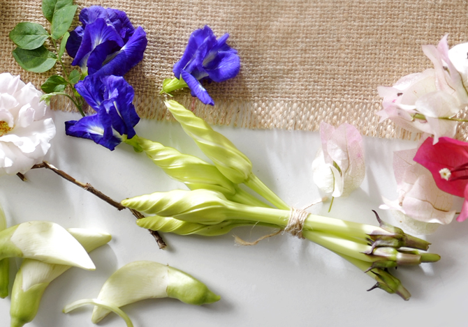 ดอกไม้กินได้ สวยดี แถมอร่อยด้วย