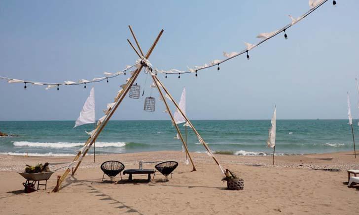 1d+ Day Artist คาเฟ่ริมทะเลสุดชิค มุมถ่ายรูปสวยแห่งปราณบุรี