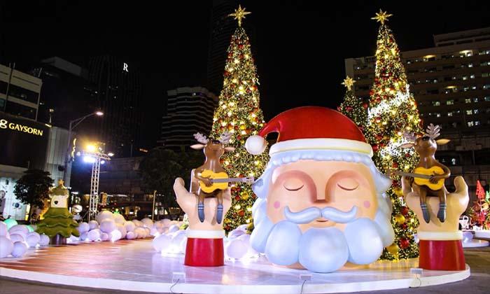 พาชมไฟคริสต์มาสสุดอลังการ ณ ลาน Central World