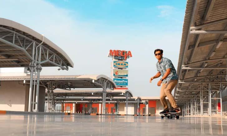 Mega Bangna เปิดพื้นที่เล่น Surf Skate บนดาดฟ้า พื้นที่กว้างกว่า 9,000 ตารางเมตร