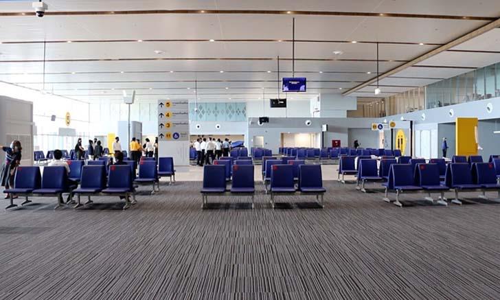 อาคารผู้โดยสารหลังใหม่สนามบินขอนแก่นสร้างเสร็จ พร้อมเปิดใช้บริการสิงหาคมนี้