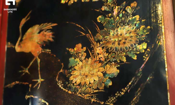 เปิดเบื้องหลังงานอนุรักษ์ บานไม้ประดับมุกศิลปะญี่ปุ่น แห่งวัดราชประดิษฐ์