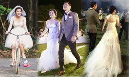 1 ชุด 2 สไตล์ ชุดแต่งงาน โอ๋ เพชรลดา 2 แสนบาท สวยหวานไม่ซ้ำใคร!