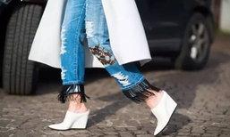 แฟชั่นนี้ไม่ตกเทรนด์! กางเกงยีนส์ + รองเท้าบูท แต่งเลยไม่มีเอ้าท์