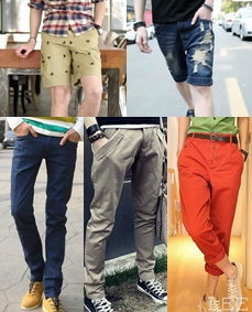 แฟชั่นกางเกงหลากสไตล์เอาใจคุณผู้ชาย