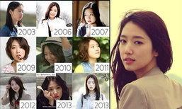 ปาร์ค ชิน เฮ ดาราเกาหลีสวยจริงไม่พึ่งมีดหมด