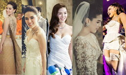 งานแต่ง ลิเดีย แมทธิว ซูม 5 ชุดแต่งงาน สวยไม่ซ้ำใคร!