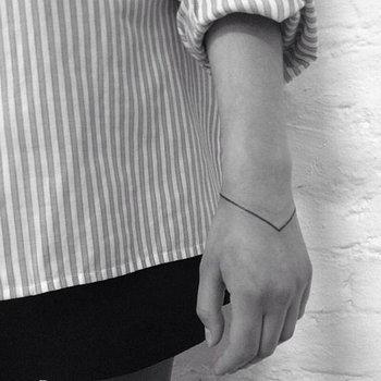 รอยสักมินิมอล