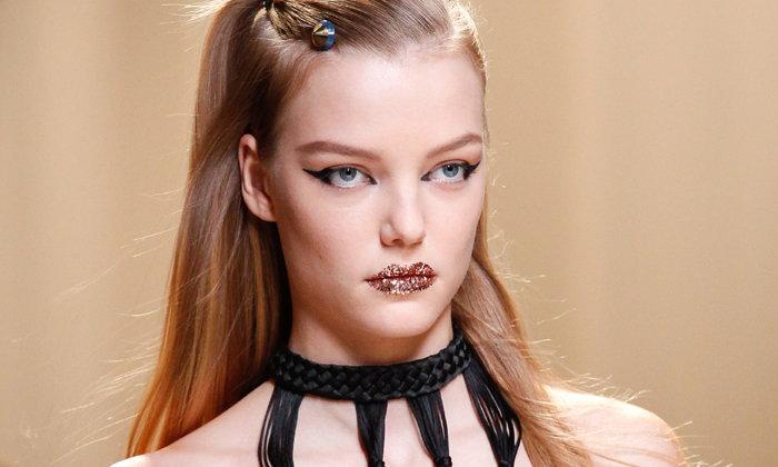 Super Duper Glittery Lips at Fendi