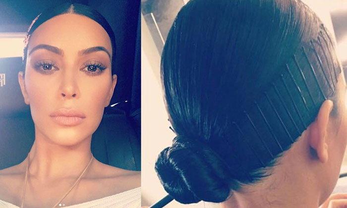 เทรนด์ติดกิ๊บติดผมสุดชิคของ Kim Kardashian