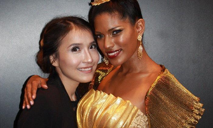 สาวไทยแต่งหน้าเจ๋ง คว้าที่ 1 งานประกวดแต่งหน้าที่ประเทศอังกฤษ