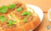 สูตรขนมปังหน้าหมูอร่อยง่ายๆ จากไมโครเวฟ ลองซะแล้วจะติดใจ