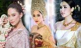 งามอย่างไทย รวมภาพสุดงดงามของเหล่าซุปตาร์ในชุดไทย