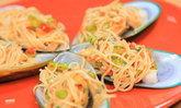 ยำขนมจีนหอยแมลงภู่นิวซีแลนด์ รสแซ่บ อร่อยง่ายด้วยไมโครเวฟ