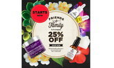 Kiehl's Friends & Family Event