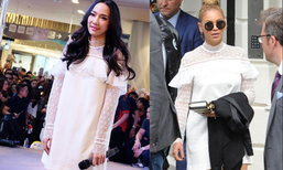 เมื่อ Beyonce นักร้องระดับโลก ใส่ชุดเดียวกันกับ อั้ม พัชราภา ใครพังซูม