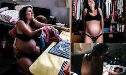 11 ภาพสุดประทับใจ เมื่อคุณแม่เลือกคลอดลูกเองที่บ้าน